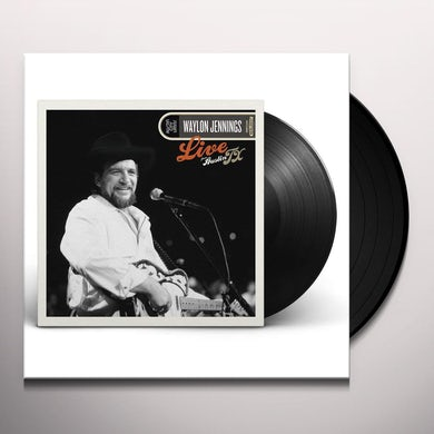 Waylon Jennings LIVE FROM AUSTIN, TX '84 Vinyl Record