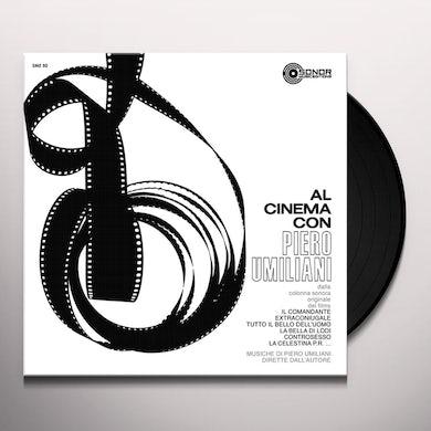 AL CINEMA CON PIERO UMILIANI Vinyl Record