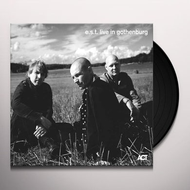 Svensson / Berglund / Ostrom LIVE IN GOTHENBURG Vinyl Record