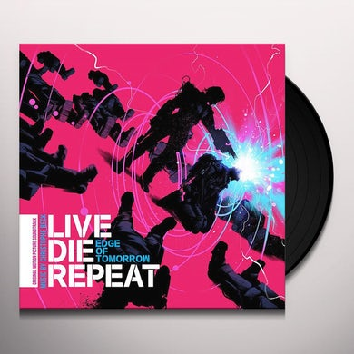 Christophe Beck EDGE OF TOMORROW (OR LIVE DIE REPEAT) / Original Soundtrack Vinyl Record