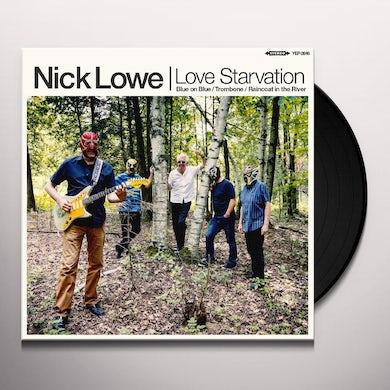 Nick Lowe Love Starvation/Trombone Vinyl Record