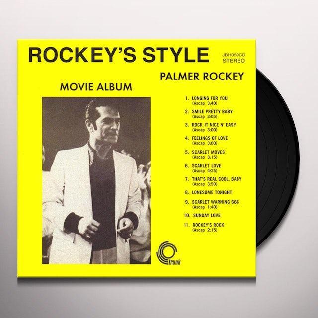 Palmer Rockey ROCKEY'S STYLE MOVIE ALBUM Vinyl Record