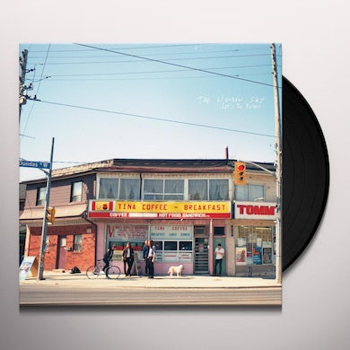 The Wooden Sky LET'S BE READY Vinyl Record - Canada Release