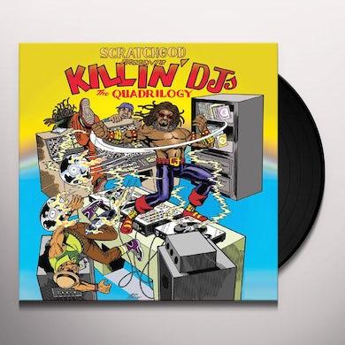 Ruckazoid SCRATCHGOD PRESENTS: KILLIN' DJ'S: THE QUADRILOGY Vinyl Record