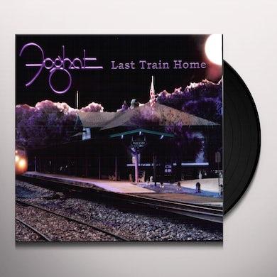 Foghat LAST TRAIN HOME Vinyl Record
