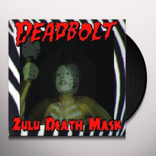 Deadbolt ZULU DEATH MASK Vinyl Record