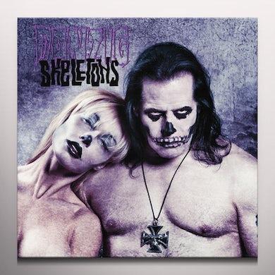 Danzig SKELETONS PURPLE / BLACK SPLATTER Vinyl Record