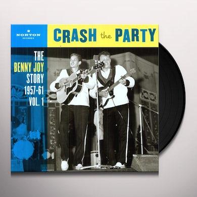 Benny Joy CRASH THE PARTY 1 Vinyl Record