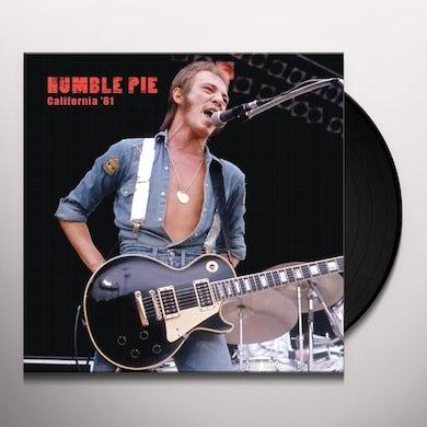 Humble Pie CALIFORNIA 81 Vinyl Record