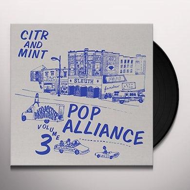 Citr Pop Alliance 3 / Various   CITR POP ALLIANCE 3 / VARIOUS Vinyl Record