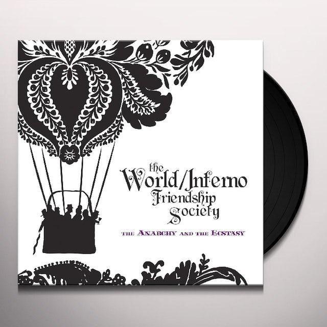 World / Inferno Friendship Society ANARCHY & THE ECSTASY Vinyl Record