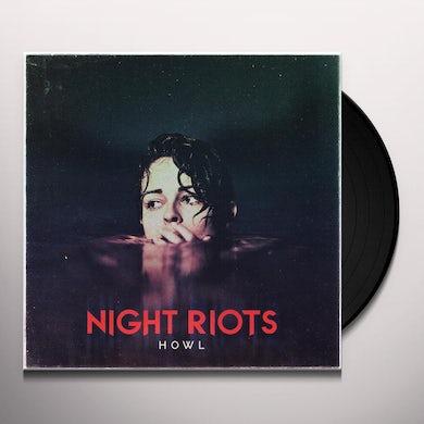 Night Riots HOWL (RED VINYL) Vinyl Record