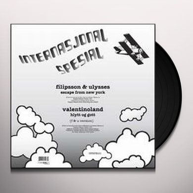 Filippson & Ulysses ESCAPE FROM NEW YORK Vinyl Record