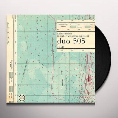 Duo505 LATE Vinyl Record