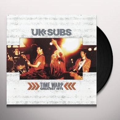 U.K. Subs TIME WARP - GREATEST HITS Vinyl Record
