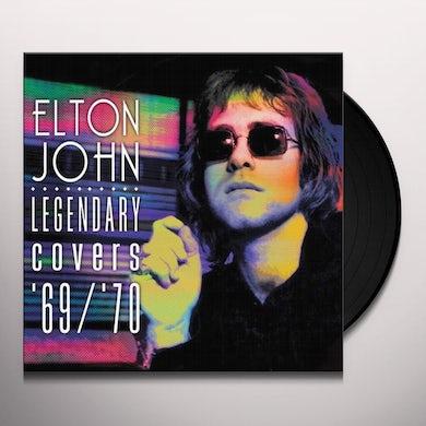 Elton John LEGENDARY COVERS '69/'70 (PICTURE VINYL) Vinyl Record