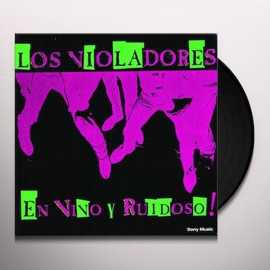 Los Violadores EN VIVO Y RUIDOSO Vinyl Record