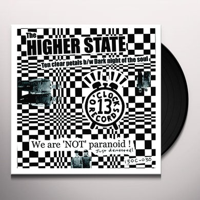 Higher State TEN CLEAR PETALS / DARK NIGHT OF THE SOUL Vinyl Record