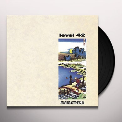 Level 42 STARING AT THE SUN Vinyl Record