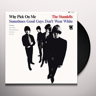 The Standells WHY PICK ON ME Vinyl Record