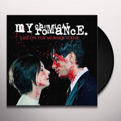 My Chemical Romance LIFE ON THE MURDER SCENE Vinyl Record