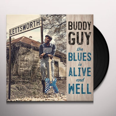 Buddy Guy BLUES IS ALIVE & WELL Vinyl Record