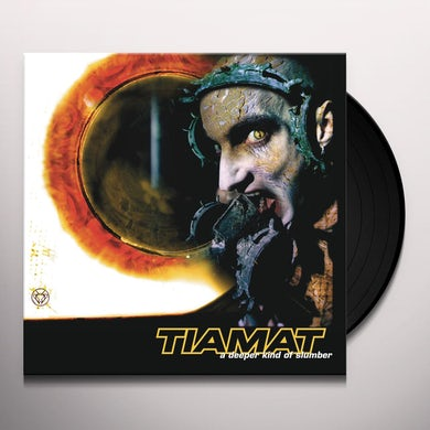 Tiamat DEEPER KIND OF SLUMBER - Limited Edition 180 Gram Gold Colored Vinyl Record