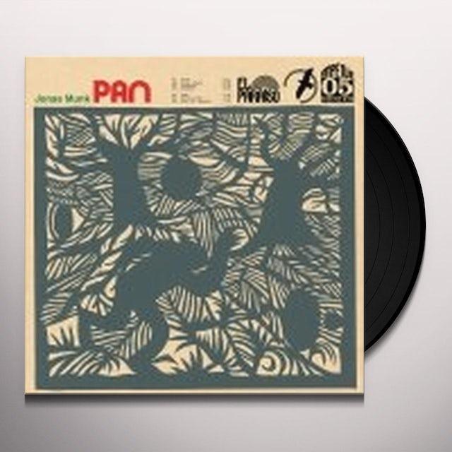 Jonas Munk PAN Vinyl Record - Portugal Release