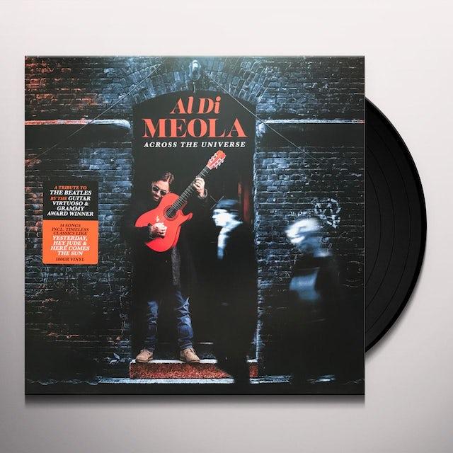 Al Di Meola ACROSS THE UNIVERSE Vinyl Record