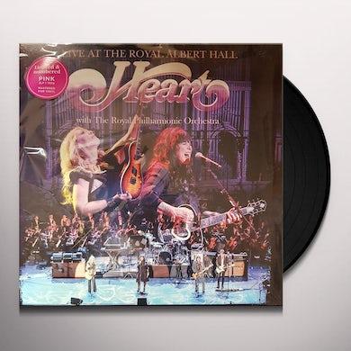 Heart LIVE AT THE ROYAL ALBERT HALL Vinyl Record