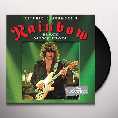 Rainbow BLACK MASQUERADE Vinyl Record