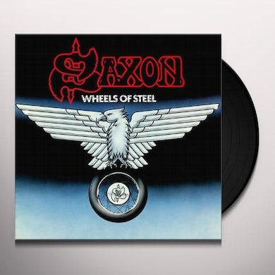 Saxon WHEELS OF STEEL Vinyl Record