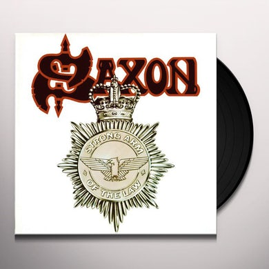Saxon STRONG ARM OF THE LAW Vinyl Record