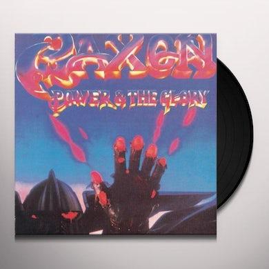 Saxon POWER & THE GLORY Vinyl Record