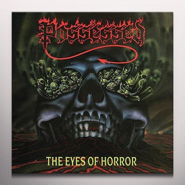 Possessed EYES OF HORROR (RED SPLATTER) Vinyl Record