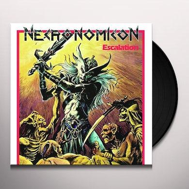 Necronomicon ESCALATION Vinyl Record - Portugal Release