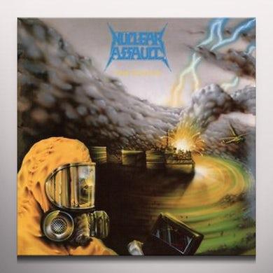 Nuclear Assault PLAGUE (BLUE SPLATTER) Vinyl Record
