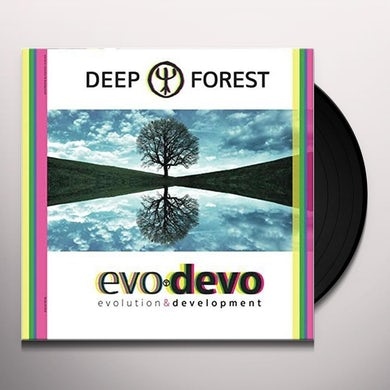 Deep Forest EVO DEVO Vinyl Record - UK Release