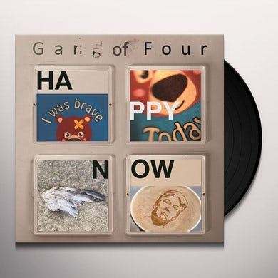 Gang Of Four HAPPY NOW Vinyl Record