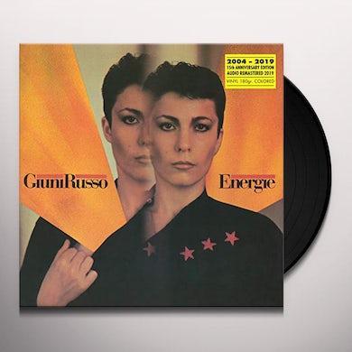 Giuni Russo ENERGIE: XV ANNIVERSARY Vinyl Record