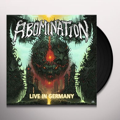 Abomination LIVE IN GERMANY Vinyl Record