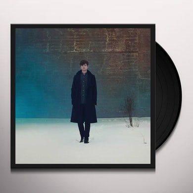 James Blake OVERGROWN Vinyl Record