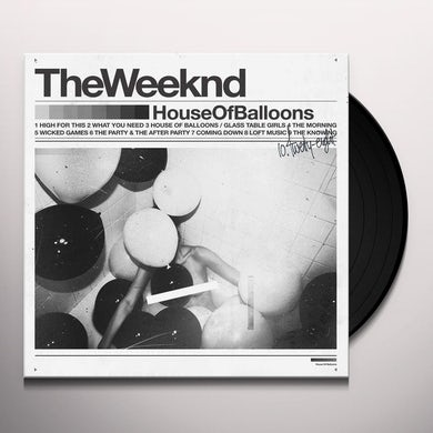 The Weeknd House Of Balloons (Explicit) (2 LP) Vinyl Record