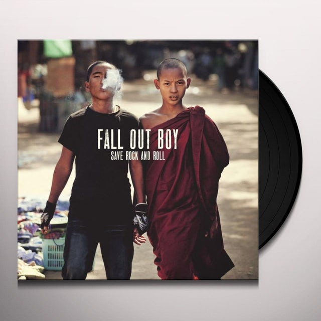 Fall Out Boy SAVE ROCK AND ROLL Vinyl Record