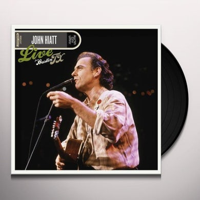 John Hiatt LIVE FROM AUSTIN TX Vinyl Record