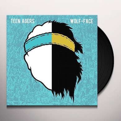 TEEN AGERS / WOLF-FACE SPLIT Vinyl Record