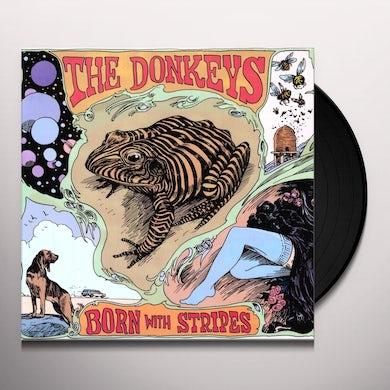 The Donkeys BORN WITH STRIPES Vinyl Record