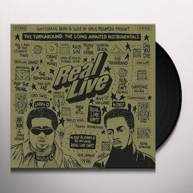 Real Live TURNAROUND: LONG AWAITED INSTRUMENTALS Vinyl Record