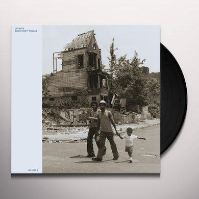 ULTIMATE BLOCK PARTY BREAKS 3 / VARIOUS Vinyl Record