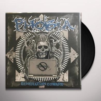 Phobia GENERATION COWARD Vinyl Record